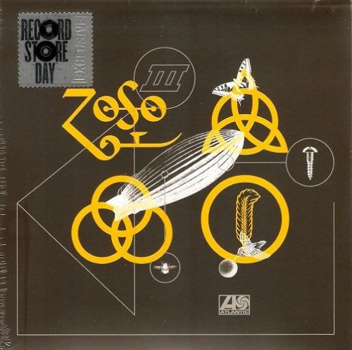 LED ZEPPELIN Rock And Roll Vinyl Record 7 Inch Atlantic 2018 Yellow Vinyl